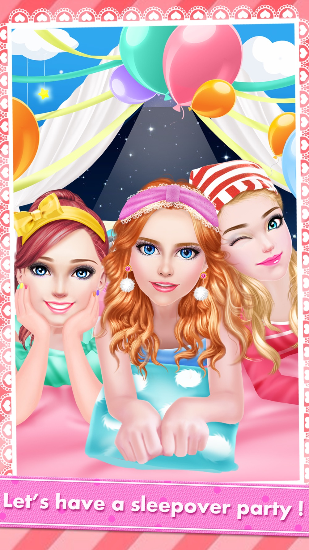 High School PJ Party – Girls Sleepover Salon with Summer SPA, Makeup & Makeover Games Cheat Codes