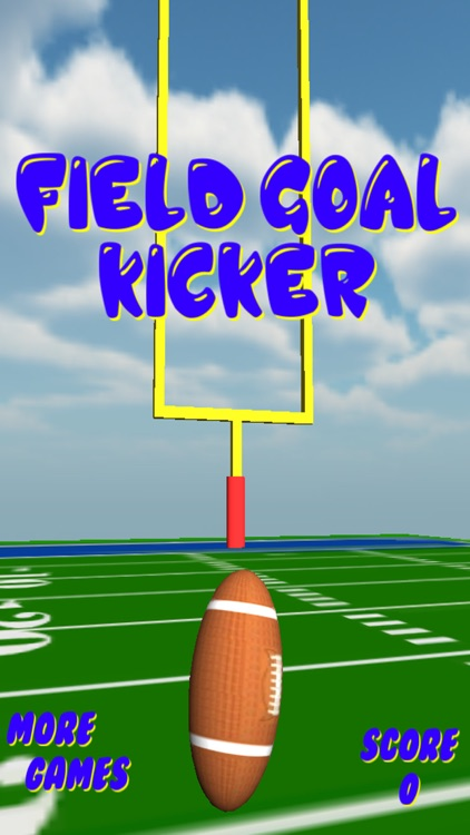 Field Goal Kicker 3d screenshot-0