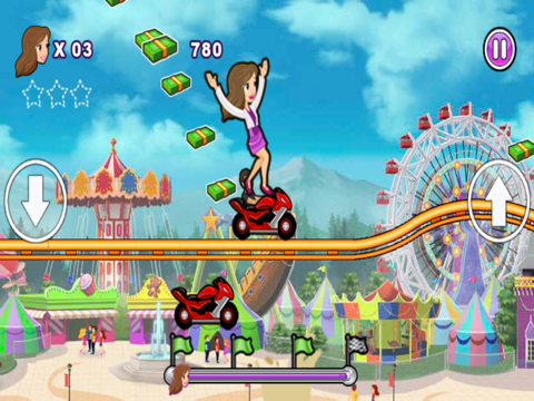 Crazy Roller Coaster Gameのおすすめ画像2