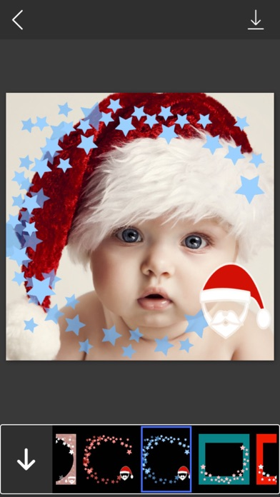 Santa Christmas Photo Frames - Decorate your moments with