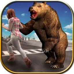 Wild Bear Attack Simulator