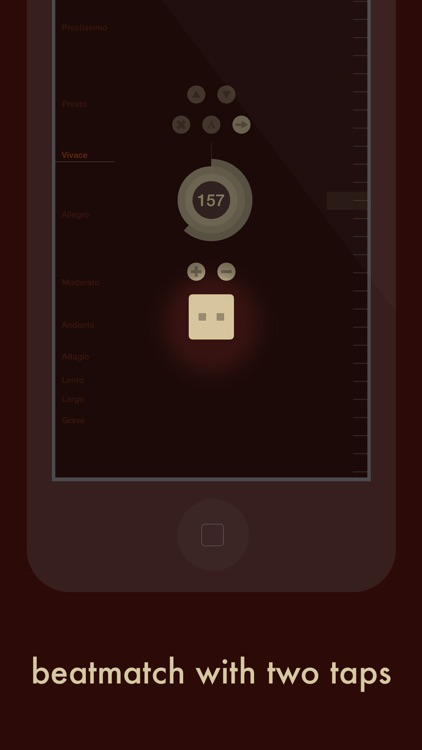Ticker — Sample-accurate metronome with tempo presets and beatmatch