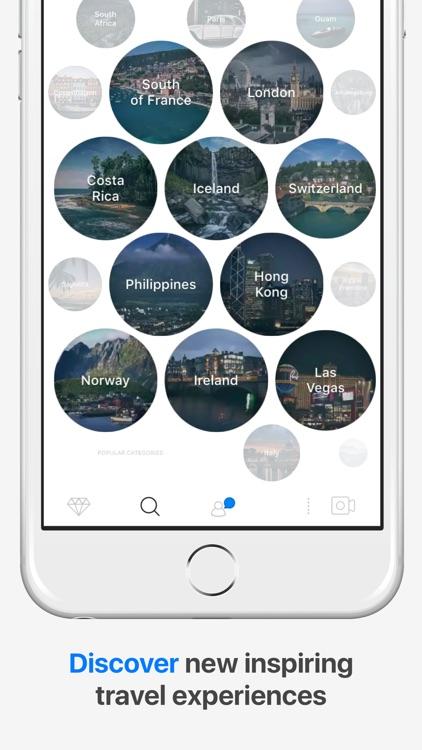 Facet - Video Travel Inspiration