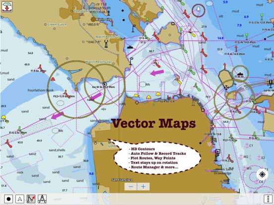 I boatingusa nautical marine charts lake maps app price drops maps screenshot 4 for i boatingusa nautical marine charts lake gumiabroncs Choice Image