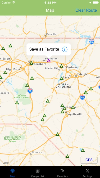 North Carolina – Camping & RV spots screenshot-2