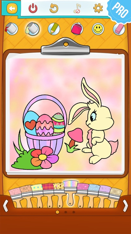 Easter Coloring Pages - Coloring Games for Boys and Girls PRO screenshot-2