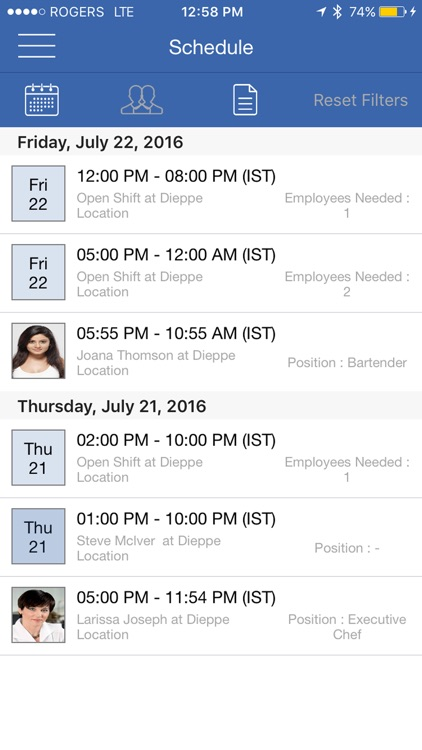Work Center : Shift Scheduling & Staff Scheduling Manager