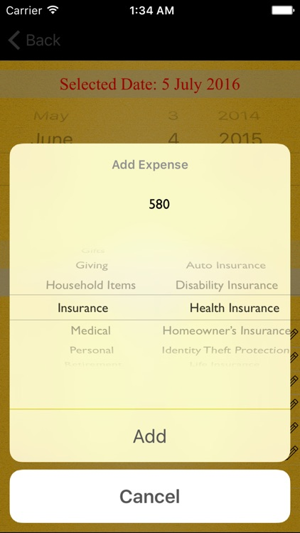 Monthly Expenses screenshot-4