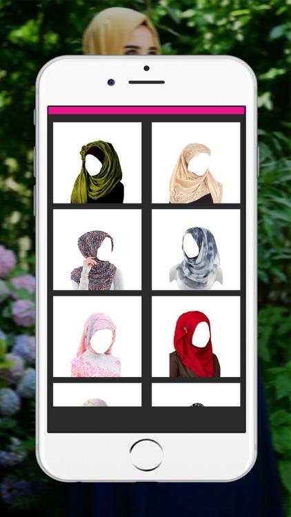 Hijab Woman Photo Montage _ Muslim Woman Wedding Dress Up screenshot-4