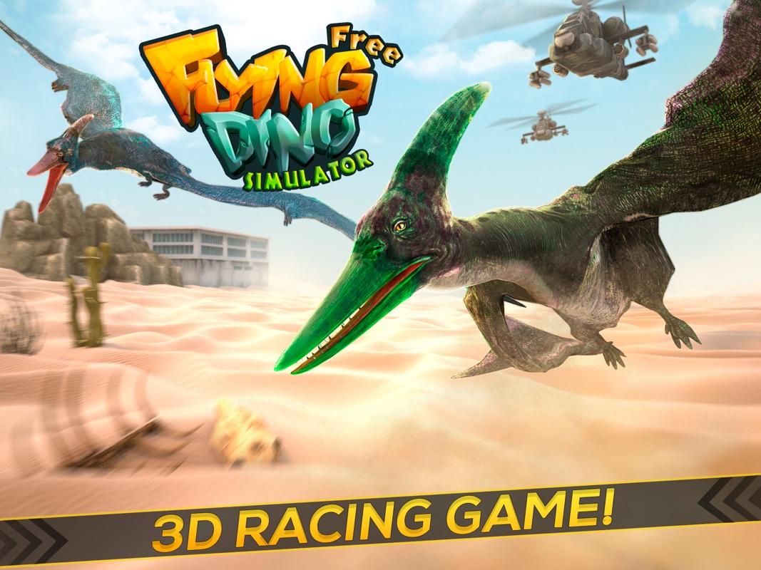 Flying Dino Simulator | The Ultimate Funny Dinosaur Game For