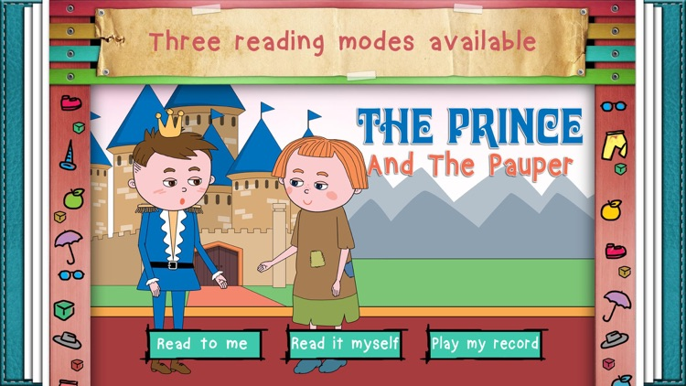 The Prince And The Pauper - interactive novel for children