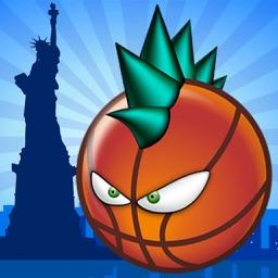 Real Stars Hoops Slam Showdown - Funny BasketBall by Macaw Moon