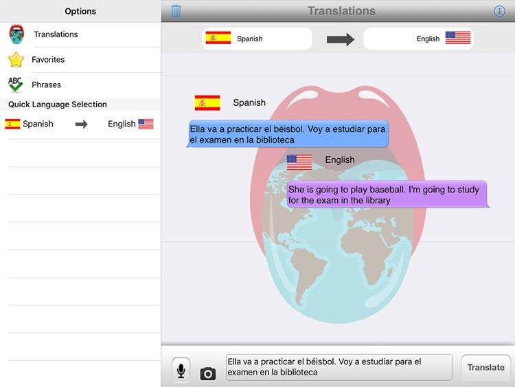 Translator With Speech HD screenshot-3