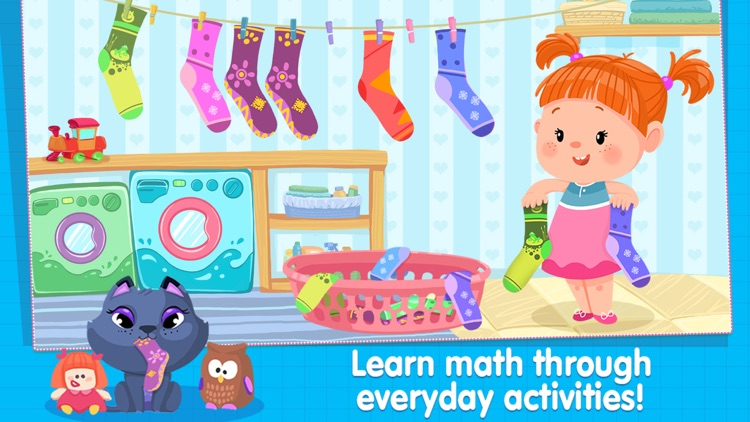 Izzie's Math - Fun Games for Kids 5-8 screenshot-1