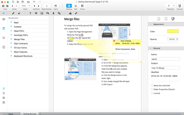 Advanced PDF Editor - for Adobe PDFs Convert Edit