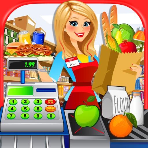 Supermarket Kitchen - Grocery Store, Food Maker & Cash Register Shopping Games FREE
