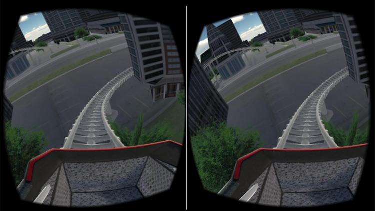 VR Roller Coaster Game