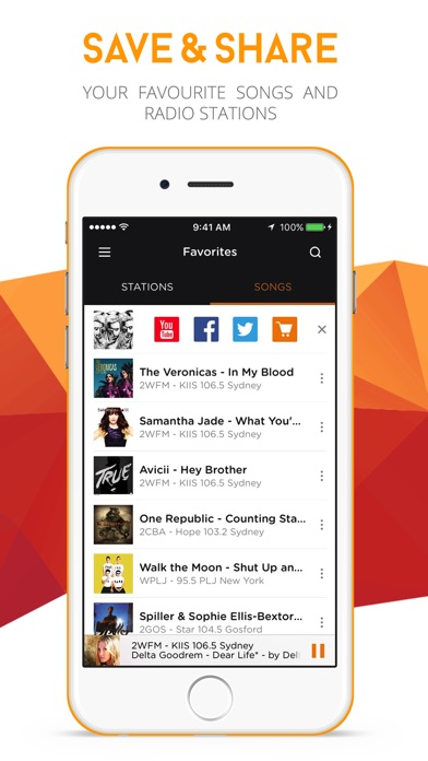 RadiON - Stream Live Music, Sports, News & Talk Radio Stations! screenshot three