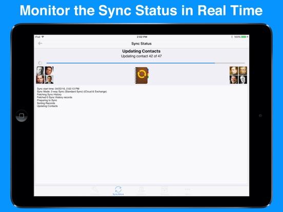 Contact Mover & Account Sync Screenshots