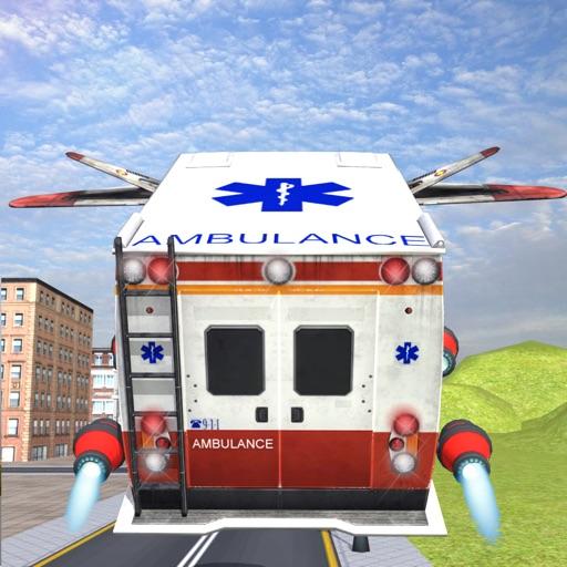 Flying Ambulance 3d Simulator 2016 iOS App