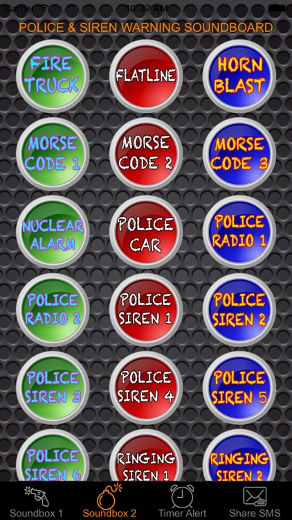 Police Sound & Siren Warning Sounds Effect Button Free: Ambulance, Fire Truck, Air Horn & Whistle Blast