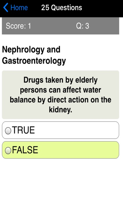 Geriatrics & Gerontology Review Quiz screenshot-4