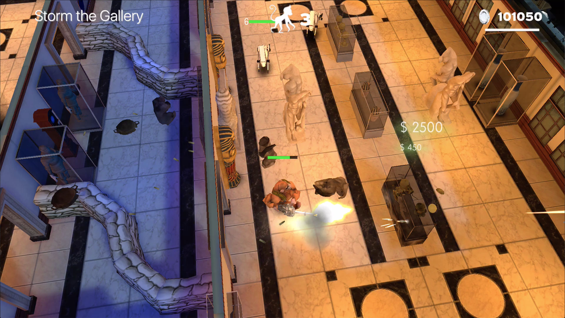 Time Monkeys - Arcade Shooter screenshot 4