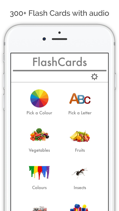 Flashcards App - Baby flash cards in english para Android ...