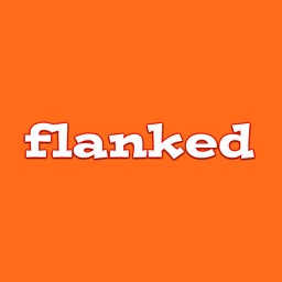 Flanked