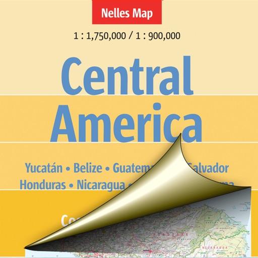 Central America. Tourist map.
