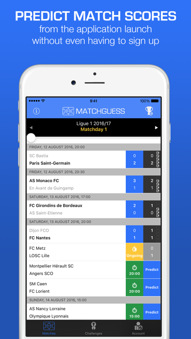 Matchguess: football predictions with bros App Profile  Reviews