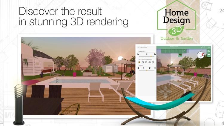 Home Design 3D Outdoor Garden screenshot-4