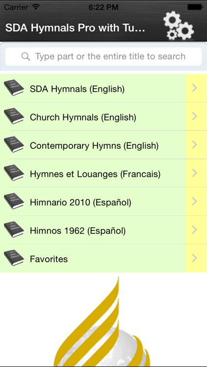 SDA Hymnals With Tunes screenshot-0
