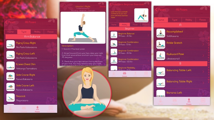 Instant Yoga Home Studio - Yoga Poses Breathing, Stretches and Exercises Training screenshot-4