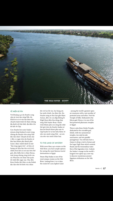 Travellive Magazine screenshot three