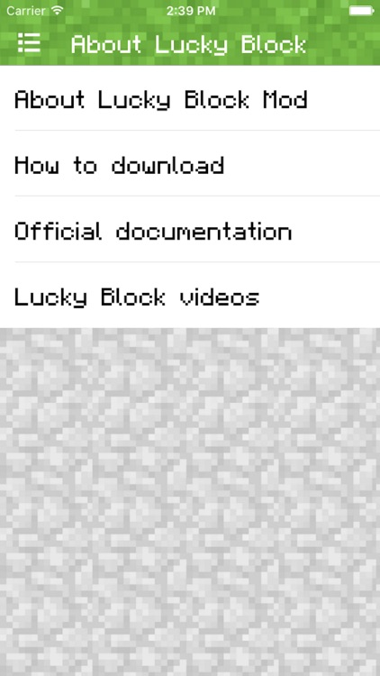 LUCKY BLOCK MOD FOR MINECRAFT PC - POCKET GUIDE EDITION screenshot-3