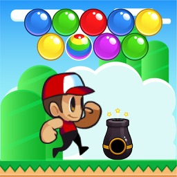 Alex and Robin - Top Fun Games Shoot Bubbles