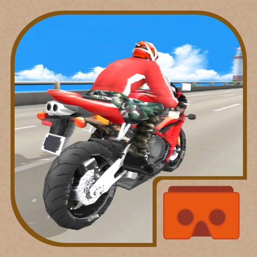 VR SUPER BIKE RACERS 3D for Cardboard Virtual Reality Viewer Glasses