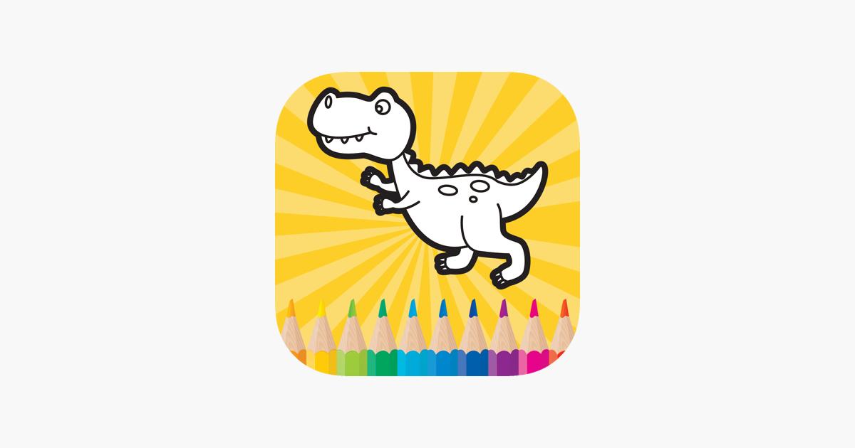 Dinazor Boyama Oyunlari Icin Bebek Cocuk Egitici Oyunlar App Store Da