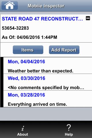 Info Tech Mobile Inspector screenshot 1