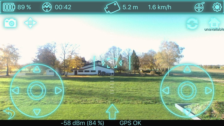 Bebop Control US - for Parrot's Bebop Drone screenshot-0