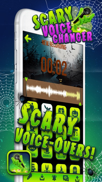 Scary Voice Record er – Horror Sound Change r and Modifier with Cool