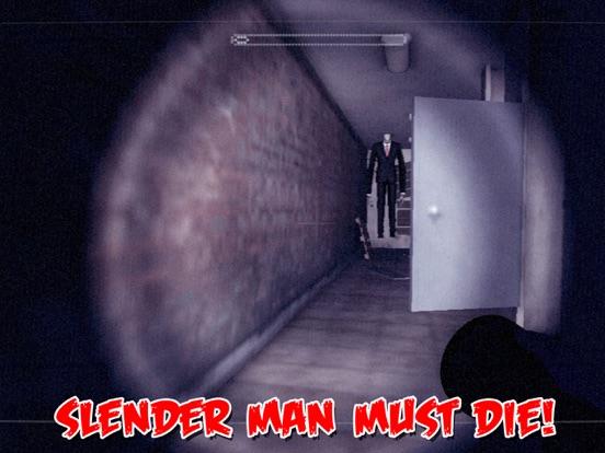 Слендермен ночи Hunter: Очень страшное ужас призрак Побег из Заброшенные леса для iPad