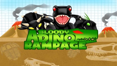 A Bloody Dino Rampage PRO - Full Dinosaur Assault Version Screenshot on iOS
