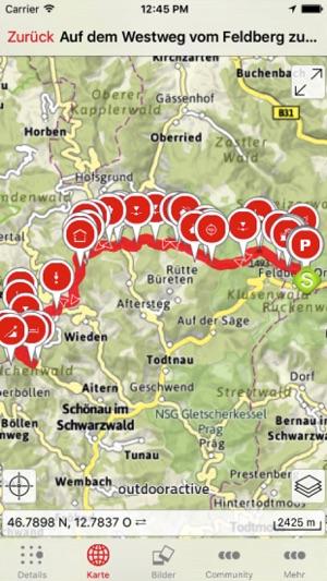 Nordschwarzwald Karte.Schwarzwald Im App Store
