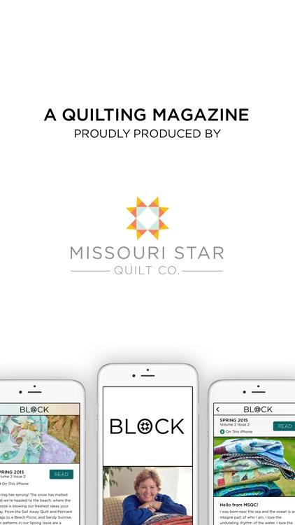 BLOCK Magazine by Missouri Star Quilt Company