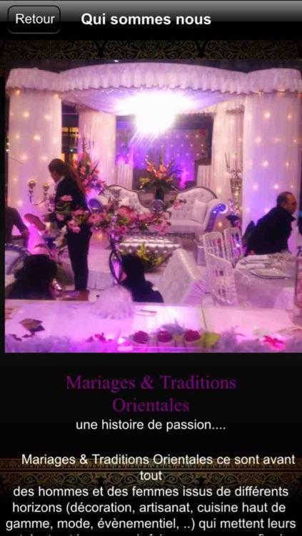 Mariage et Tradition Décoration
