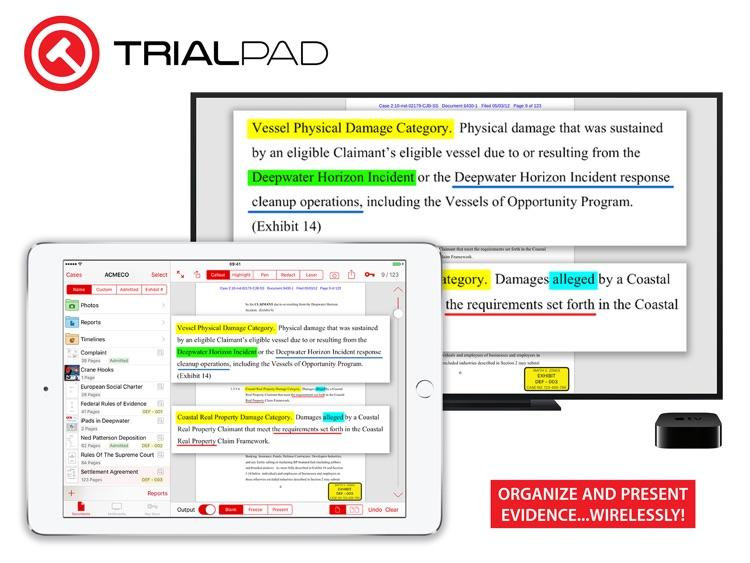 TrialPad - Organize and Present Evidence screenshot-0