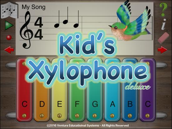 Kid's Xylophone Deluxe screenshot one