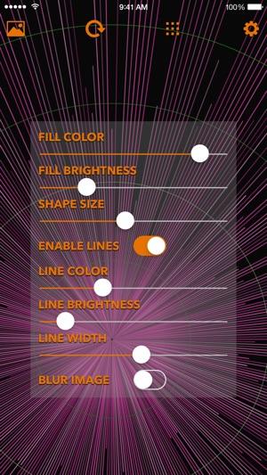 Custom Wall O Matic Geometric Wallpaper Generator En App